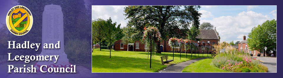 Header Image for Hadley and Leegomery Parish Council