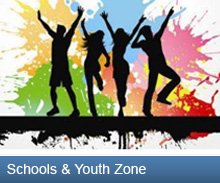 Schools & Youth Zone button